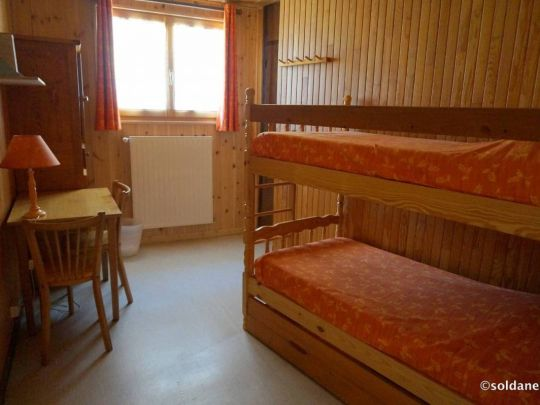 Gentiane Chambre avec 2 lits superposés